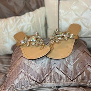 💚💚💍😍Beautiful Bling Sandals